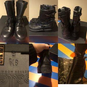 Siegerson Morrison Moro boots